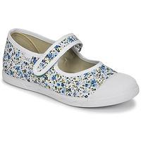Obuća Djevojčica Balerinke i Mary Jane cipele Citrouille et Compagnie APSUT Blue / Bijela