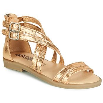 Obuća Djevojčica Sandale i polusandale Citrouille et Compagnie IMOURAT Gold