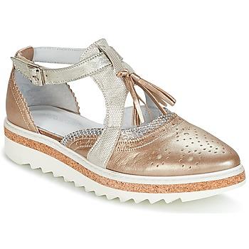 Obuća Žene  Derby cipele Regard RASTANU Bronzová