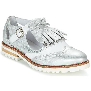 Obuća Žene  Derby cipele Regard RETAZO Bijela / Srebrna