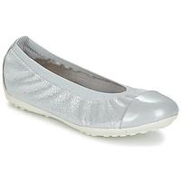 Obuća Djevojčica Balerinke i Mary Jane cipele Geox J PIUMA BAL A Siva / Srebrna