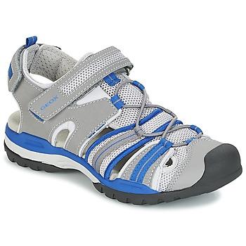 Obuća Dječak  Sportske sandale Geox J BOREALIS B. C Siva / Blue