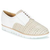 Obuća Žene  Derby cipele Geox KOOKEAN Taupe / Bijela