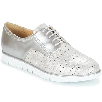 Obuća Žene  Derby cipele Geox KOOKEAN Srebrna