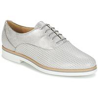 Obuća Žene  Derby cipele Geox JANALEE A Siva / Bijela