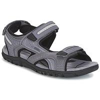 Obuća Muškarci  Sportske sandale Geox S.STRADA D Siva