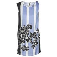 Odjeća Žene  Kratke haljine Sisley LAPOLLA Blue / Bijela / Crna