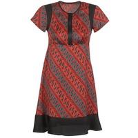 Odjeća Žene  Kratke haljine Sisley ZEBRIOLO Red / Crna