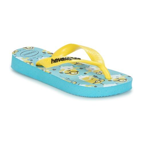 Obuća Dječak  Japanke Havaianas MINIONS Blue / Žuta
