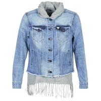Odjeća Žene  Traper jakne Maison Scotch XAOUDE Blue / Svijetla / Siva