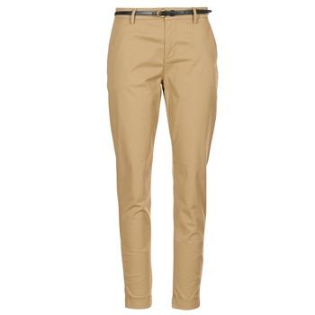 Odjeća Žene  Chino hlačei hlače mrkva kroja Maison Scotch BEIBEO Bež