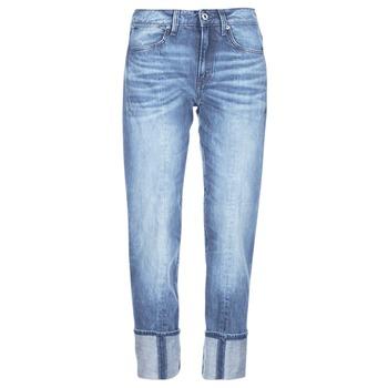 Odjeća Žene  Traperice 3/4 i 7/8 G-Star Raw LANC 3D HIGH STRAIGHT 11ozsena