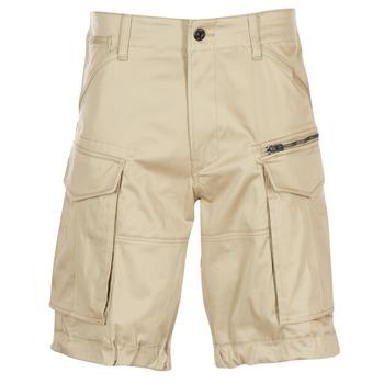 Odjeća Muškarci  Bermude i kratke hlače G-Star Raw ROVIC ZIP LOOSE 1/2 Bež