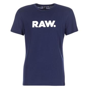Odjeća Muškarci  Majice kratkih rukava G-Star Raw HOLORN R T S/S Blue