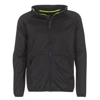 Odjeća Muškarci  Sportske majice G-Star Raw STRETT SLIM HOODED ZIP THRU SW L/S Crna