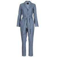Odjeća Žene  Kombinezoni i tregerice G-Star Raw DELINE JUMPSUIT WMN L/S Blue / Bijela