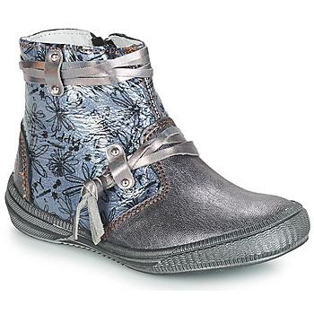 Obuća Djevojčica Čizme za grad GBB REVA Grey / Plava/print / Dpf