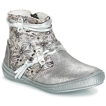 Obuća Djevojčica Čizme za grad GBB REVA Grey / Srebrna/print / Dpf