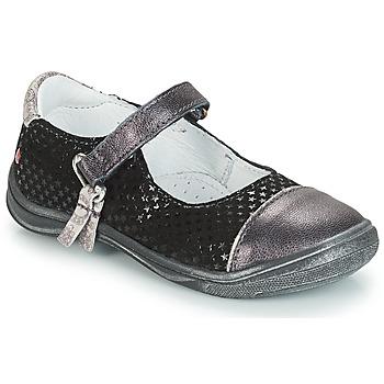 Obuća Djevojčica Balerinke i Mary Jane cipele GBB RIKA Siva / Crna