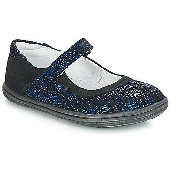 Obuća Djevojčica Balerinke i Mary Jane cipele GBB PLACIDA Blue / Crna