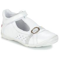 Obuća Djevojčica Balerinke i Mary Jane cipele GBB SALOME Bijela
