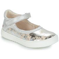 Obuća Djevojčica Balerinke i Mary Jane cipele GBB SAKURA Srebrna / Bež