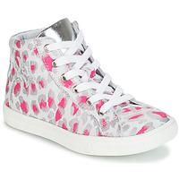 Obuća Djevojčica Visoke tenisice GBB SERAPHINE Siva / Ružičasta / Bijela