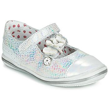 Obuća Djevojčica Balerinke i Mary Jane cipele Catimini STROPHAIRE Srebrna