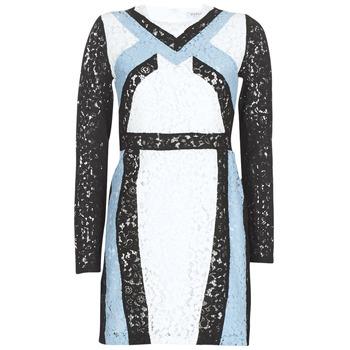 Odjeća Žene  Kratke haljine Morgan RLIXI Bijela / Crna / Blue