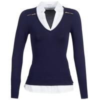 Odjeća Žene  Puloveri Morgan MYLORD Blue / Bijela