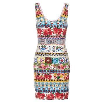 Odjeća Žene  Kratke haljine Desigual OCONDE Multicolour