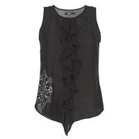Odjeća Žene  Majice s naramenicama i majice bez rukava Desigual POALDAOR Crna