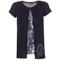 Odjeća Žene  Majice kratkih rukava Desigual NUTILAD Crna