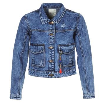 Odjeća Žene  Traper jakne Kaporal BUCHE Blue