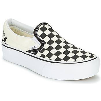 Obuća Žene  Slip-on cipele Vans SLIP-ON PLATFORM Crna / Bijela