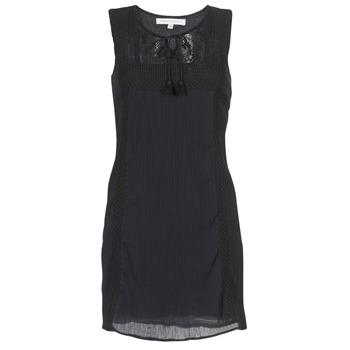 Odjeća Žene  Kratke haljine Banana Moon ELEANOR MAKENNA Crna