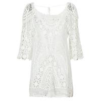 Odjeća Žene  Kratke haljine Banana Moon MAGBY DREAMLAND Bijela