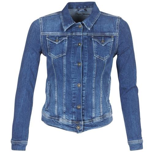 Odjeća Žene  Traper jakne Pepe jeans THRIFT Blue