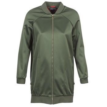 Odjeća Žene  Kratke jakne Tommy Hilfiger MABEL-LONG-BOMBER Kaki