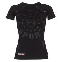 Odjeća Žene  Majice kratkih rukava Philipp Plein Sport FORMA LINEA Crna
