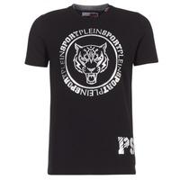 Odjeća Muškarci  Majice kratkih rukava Philipp Plein Sport IVAN Crna / Silver