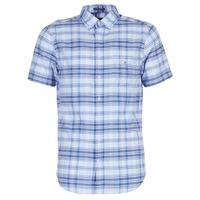 Odjeća Muškarci  Košulje kratkih rukava Gant BLUE PACK MADRAS REG Blue