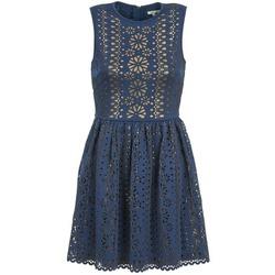 Odjeća Žene  Kratke haljine Manoush NEOPRENE Blue / Zlatna