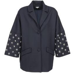 Odjeća Žene  Kaputi Manoush CABOCHON Blue