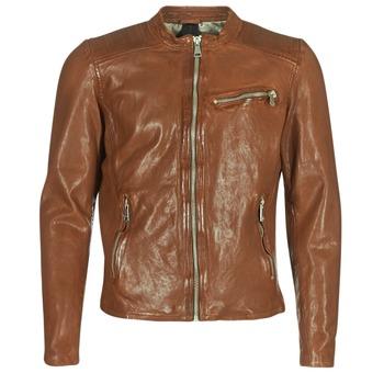Odjeća Muškarci  Kožne i sintetičke jakne Redskins CROSS Boja konjaka