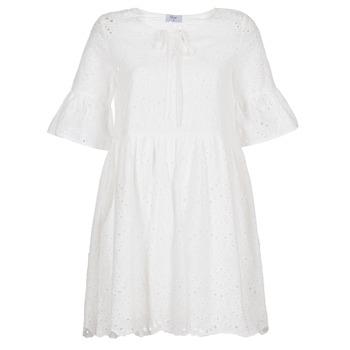 Odjeća Žene  Kratke haljine Betty London INNATU Bijela