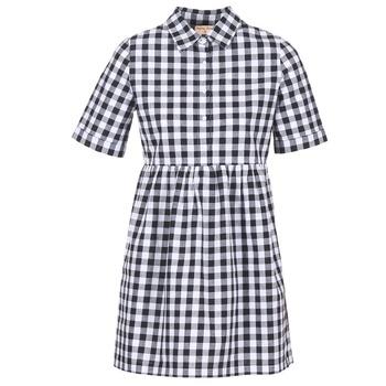 Odjeća Žene  Kratke haljine Moony Mood IKAMAL Bijela / Crna