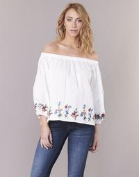 Odjeća Žene  Topovi i bluze Moony Mood IFITI Bijela