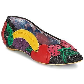 Obuća Žene  Balerinke i Mary Jane cipele Irregular Choice BANANA BOAT Crna