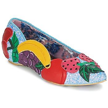 Obuća Žene  Balerinke i Mary Jane cipele Irregular Choice BANANA BOAT Blue